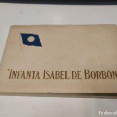 Postales: BLOC DE 18 POSTALES INFANTA ISABEL DE BORBÓN. Lote 210661070