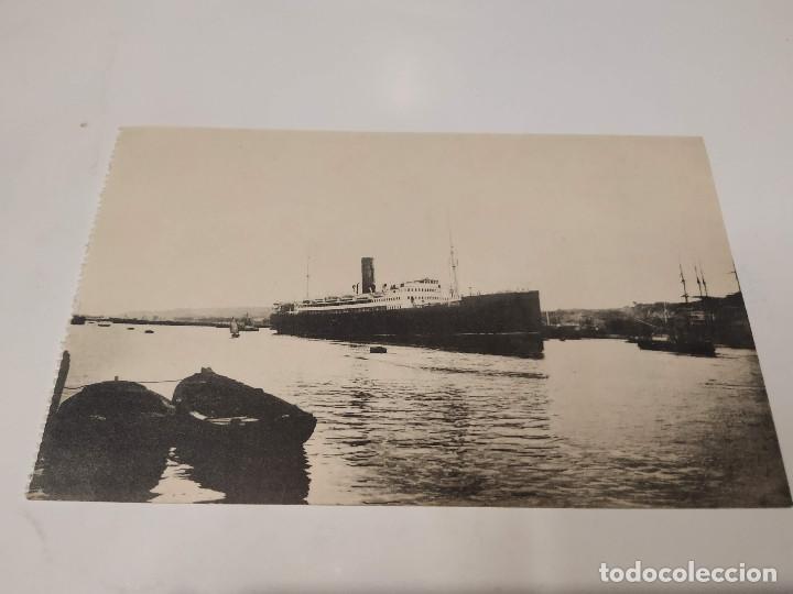 POSTAL ALFONSO XII - SOCIEDAD ESPAÑOLA DE CONSTRUCCIÓN NAVAL - SESTAO Y NERVIÓN (BILBAO) (Postales - Postales Temáticas - Barcos)