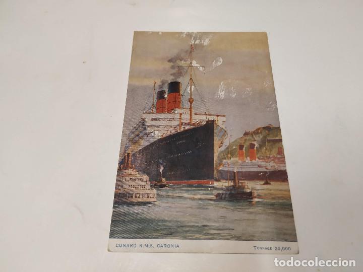 POSTAL R.M.S. CARONIA - CUNARD (Postales - Postales Temáticas - Barcos)