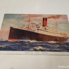 Postales: POSTAL R.M.S. SCYTHIA - CUNARD LINE. Lote 210662935