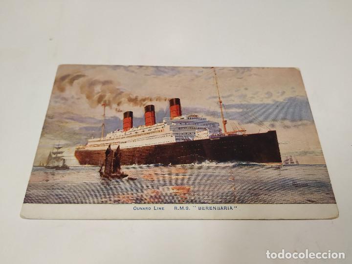 POSTAL R.M.S. BERENGARIA - CUNARD LINE (Postales - Postales Temáticas - Barcos)