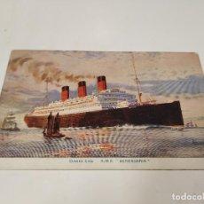 Postales: POSTAL R.M.S. BERENGARIA - CUNARD LINE. Lote 210663021