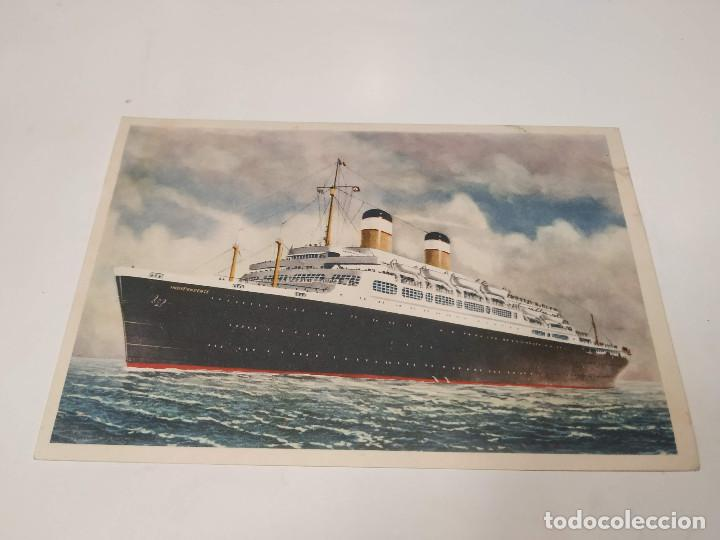 POSTAL S.S. INDEPENDENCE AND S.S. CONSTITUTION - AMERICAN EXPORT LINES (Postales - Postales Temáticas - Barcos)