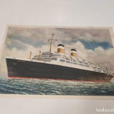 Postales: POSTAL S.S. INDEPENDENCE AND S.S. CONSTITUTION - AMERICAN EXPORT LINES. Lote 210664317