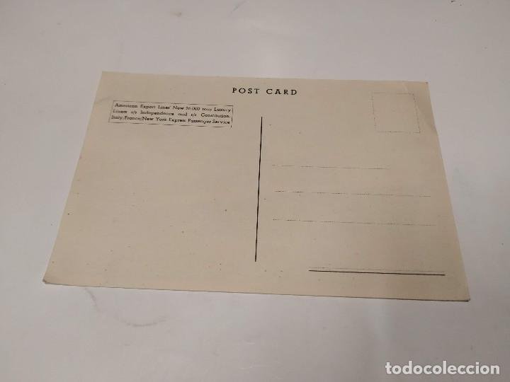 Postales: POSTAL S.S. INDEPENDENCE AND S.S. CONSTITUTION - AMERICAN EXPORT LINES - Foto 2 - 210664317