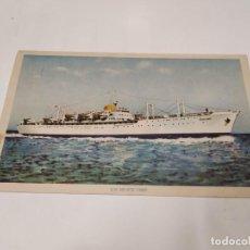 Postales: POSTAL B.M. MONTE UMBE - NAVIERA AZNAR. Lote 210664417