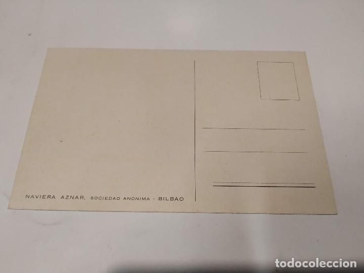Postales: POSTAL B.M. MONTE UMBE - NAVIERA AZNAR - Foto 2 - 210664532