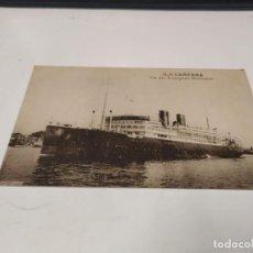 Postales: POSTAL S.S. CAMPANA - CIE DES TRANSPORTS MARITIMES. Lote 210666661