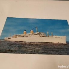 Postales: POSTAL S.S. CONSTITUTION - AMERICAN EXPORT LINES. Lote 210667071