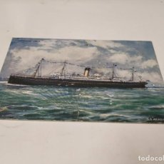 Postales: POSTAL S.S. ARABIC - WHITE STAR LINES. Lote 210669442