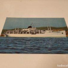 Postales: POSTAL M.N. BEGOÑA - COMPAÑÍA TRASATLÁNTICA ESPAÑOLA. Lote 210670040