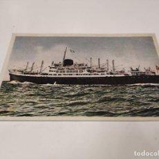 Postales: POSTAL M.N. GUADALUPE - COMPAÑÍA TRASATLÁNTICA ESPAÑOLA. Lote 210670427