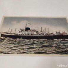 Postales: POSTAL M.N. COVADONGA - COMPAÑÍA TRASATLÁNTICA ESPAÑOLA. Lote 210670729