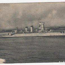 Postales: CRUCERO NAVARRA SERIE B Nº 3 ENERO 1943 ARCHIVO DE LA ARMADA FOTO GLEZ. DE AGUILAR. Lote 211614382