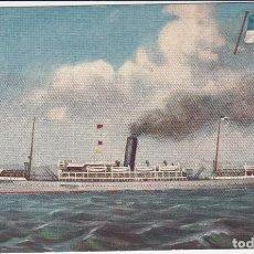 Postales: 19/10/1925 EMP.N.DE NAVEGACAO LISBOA SERVICIO REGULAR POR VAPOR PARA LAS COSTAS OCCIDENTAL DE ÁFRICA. Lote 211614896