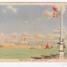Postales: POSTCARD ON BOARD THE ORIENT LINE R.M.S. ORONSAY. Lote 211616042