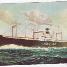 Postales: POST CARD ADDRESS LYKES BROS. STEAMSHIP CO., INC. NEW ORLEANS-HOUSTON-GALVESTON AND OTHER GULF PORTS. Lote 211617277