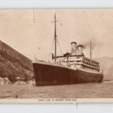 Postales: ORIENT LINE (CIRCULADA EN 1934). Lote 211672505