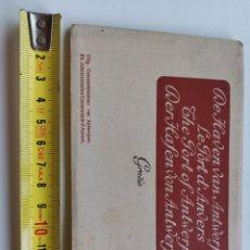 Postales: ESPECTACULAR ÁLBUM POSTALES 12 DE ANTWERPEN, ANVERES. BELGIUM BÉLGICA. BARCOS, NAVIERA. PUERTO. Lote 213055245