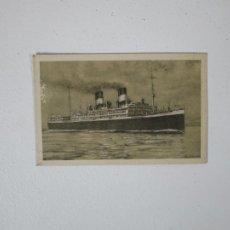 Postales: POSTAL BARCO - NAVIGAZIONE GENERALE ITALIANA - GIULIO CESARE. Lote 215429040