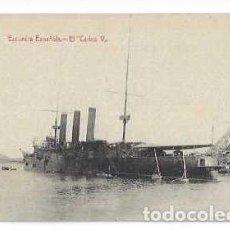 Postales: TARJETA POSTAL ESCUADRA ESPANOLA , EL CARLOS V. Lote 215805637
