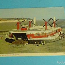 Postales: THE INTERNATIONAL HOVERPORT RAMSGATE. HOVERCRAFT. AERODESLIZADOR. Lote 220250621