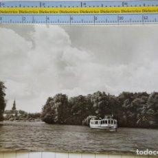 Postales: POSTAL DE BARCOS NAVIERAS. BARCO BUQUE EN TEMPLIN STADTSEE ALEMANIA. 2317. Lote 221727623