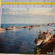 Postales: POSTAL DE BARCOS NAVIERAS. BARCO BUQUE MUELLE DEL GENERALÍSIMO, GRAN CANARIA . 2328. Lote 221728240