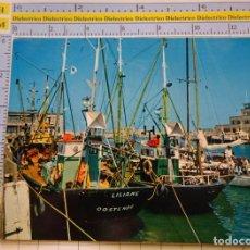 Postales: POSTAL DE BARCOS NAVIERAS. BARCO BUQUE DE PESCA EN OSTENDE, BÉLGICA . 2329. Lote 221728262