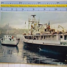 Postales: POSTAL DE BARCOS NAVIERAS. BARCO BUQUE LA CALYPSO BUQUE OCEANOGRÁFICO JACQUES COUSTEAU . 2331. Lote 221728460