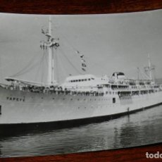 Postales: FOTO POSTAL DEL BARCO YAPEYU, N. 603, ED. ARTIGOT, NO CIRCULADA.. Lote 222242568