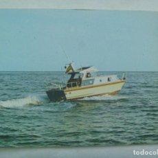 Postales: POSTAL DE UNA LANCHA MODELO IONE 850 . ASTILLERO NEREO MALAGA. FERIA DE MUESTRAS DE SEVILLA. Lote 222599025