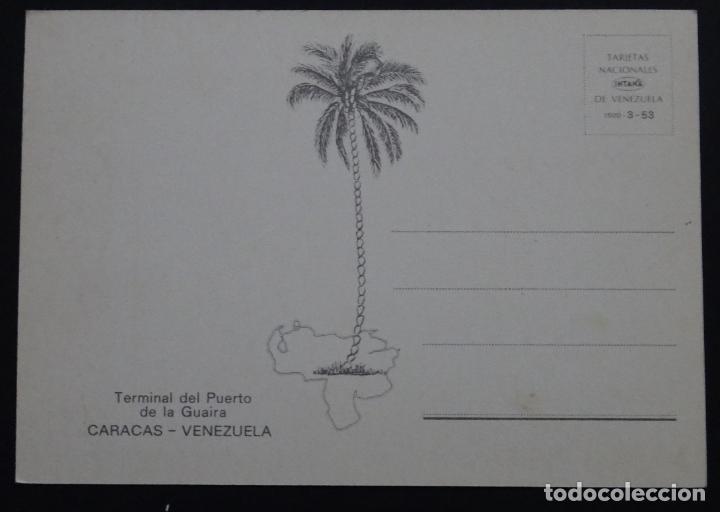 Postales: Terminal del Puerto de Guaira, Caracas, Venezuela, antigua postal sin circular - Foto 2 - 223251478