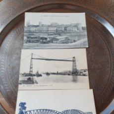 Cartes Postales: 3 POSTALES BARCOS 1900. Lote 228105830