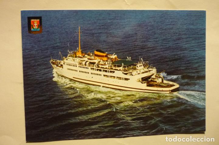 POSTAL TRASBORDADOR VICTORIA.-ALGECIRAS (Postales - Postales Temáticas - Barcos)