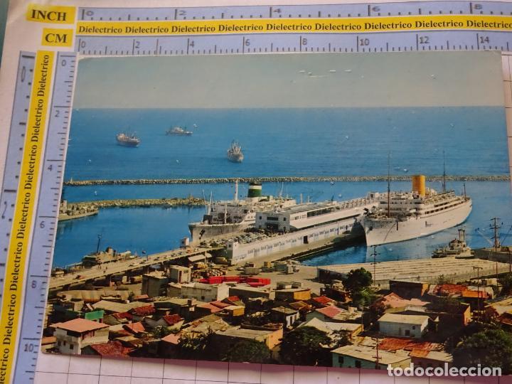 POSTAL DE BARCOS NAVIERAS. BARCO BUQUE EN EL PUERO DE LA GUAIRA, VENEZUELA. 3345 (Postales - Postales Temáticas - Barcos)