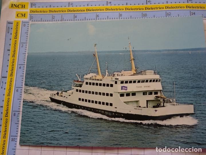 POSTAL DE BARCOS NAVIERAS. BARCO BUQUE THOR VIKING ALEMANIA. 3346 (Postales - Postales Temáticas - Barcos)