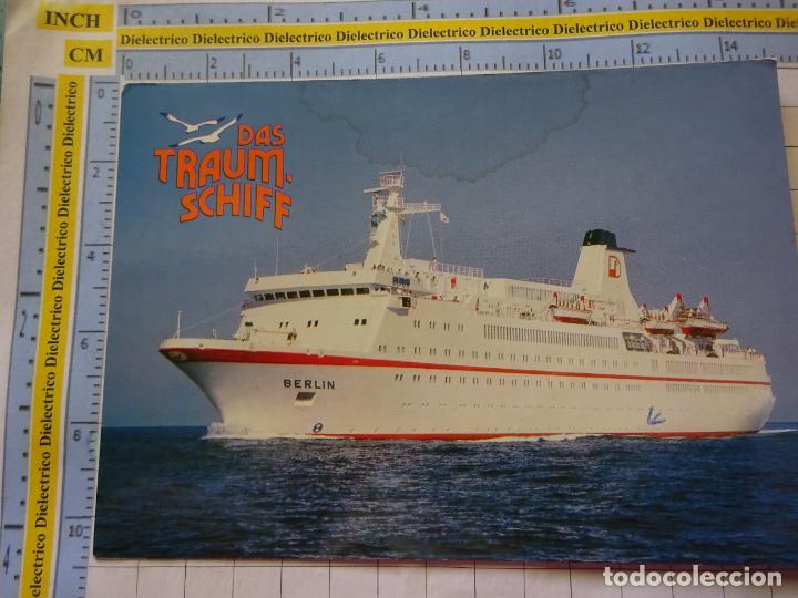 POSTAL DE BARCOS NAVIERAS. BARCO BUQUE MS BERLIN ALEMANIA. 3351 (Postales - Postales Temáticas - Barcos)