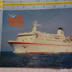 Postales: POSTAL DE BARCOS NAVIERAS. BARCO BUQUE MS BERLIN ALEMANIA. 3351. Lote 243578400