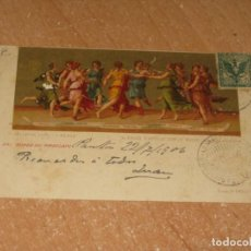 Postales: POSTAL DE PIROSCAFO. Lote 244854385