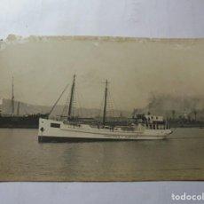 Postales: MAGNIFICA ANTIGUA POSTAL DE BARCO MIROTRES-ESPAÑA FECHADA 1919. Lote 247767470