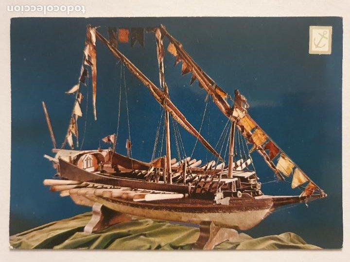 MODELO DE GALERA DE LEPANTO EXVOTO - P49214 (Postales - Postales Temáticas - Barcos)