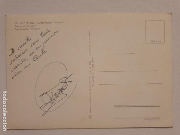 Postales: BUQUE TRANSBORDADOR VICTORIA - ALGECIRAS - P49269 - Foto 2 - 253442120