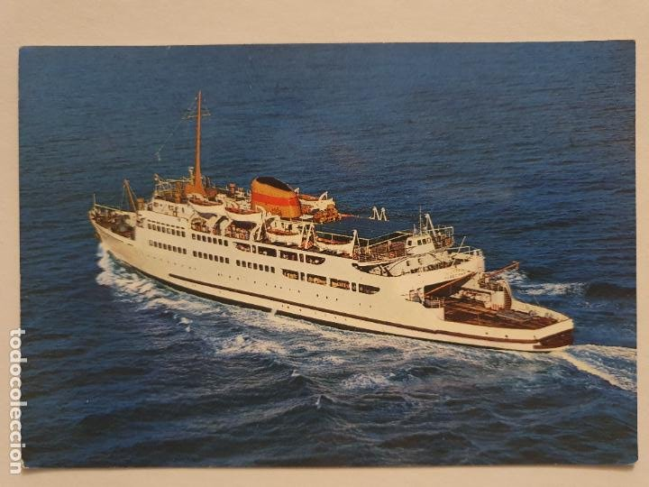 BUQUE TRANSBORDADOR VICTORIA - ALGECIRAS - P49269 (Postales - Postales Temáticas - Barcos)