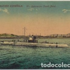 Postales: POSTAL DE BARCO: SUBMARINO ISAAC PERAL. Nº 19 P-BAR-453. Lote 254889565
