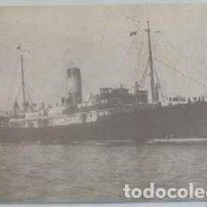 Postales: POSTAL DE BARCO: VAPOR MALLORCA. CIA. TRASMEDITERRANEA P-BAR-463. Lote 254890045