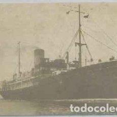 Postales: POSTAL DE BARCO: VAPOR REY JAIME L. CIA TRASMEDITERRANEA P-BAR-464. Lote 254890180