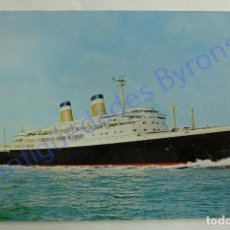 Postales: POSTAL. AMERICAN EXPORT LINE. S.S. CONSTITUTION. Lote 257420115