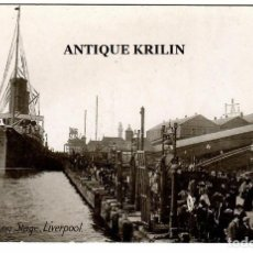 Postales: LIVERPOOL / THE LANDING STAGE / SERIE 4506 PHILCO SERIES. Lote 257655535