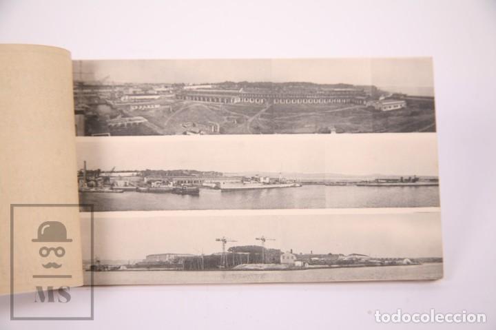 Postales: Taco de 8 Postales - Sociedad Española de Construción Naval - Sevilla Barcelona - Año 1929 - Foto 2 - 261228590